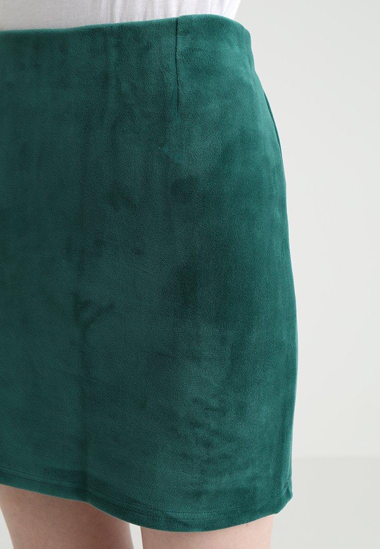 Weekday KATHY SKIRT - Minigonna dark green