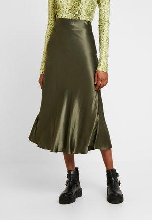 IRMA SKIRT - Pouzdrová sukně - khaki