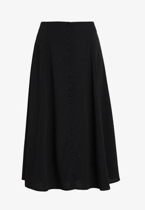 SALLY SKIRT - Maxi skirt - black