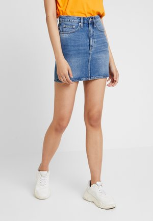 WEND SKIRT - Denim skirt - marfa blue