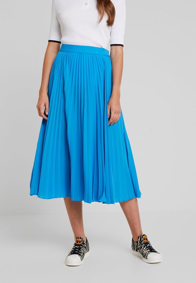 Weekday - VALENTINE PLEATED SKIRT - Pleated skirt - blue