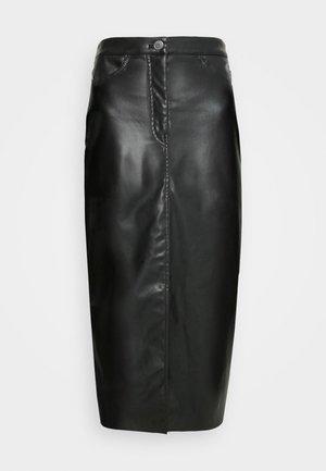 EMMIE SKIRT - Spódnica trapezowa - black