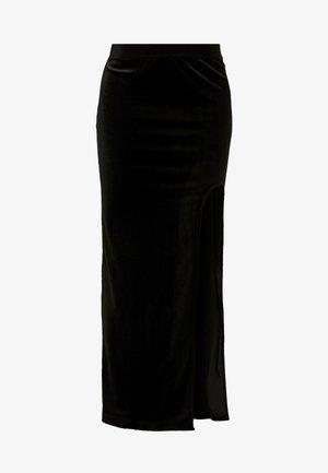 ADRIANA SKIRT - Maxi sukně - black