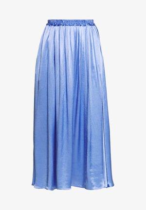 READ SKIRT - A-line skirt - blue
