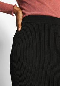 Weekday - OCTAVIA SKIRT - Jupe crayon - black - 4