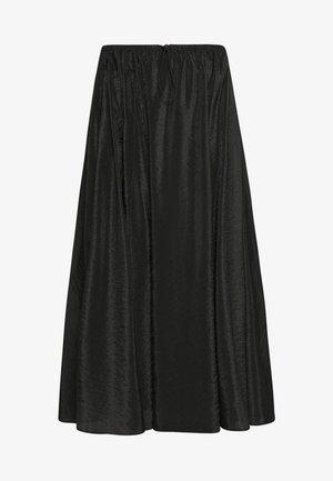 DANICA SKIRT - Maxi skirt - black