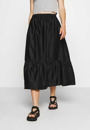 MACIE SKIRT - Áčková sukně - black