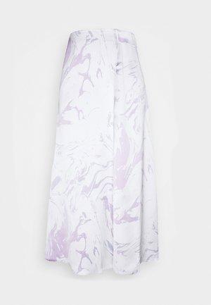 YAN SKIRT - Maxi skirt - white