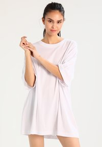 Weekday - HUGE DRESS - Jerseykjole - white - 0