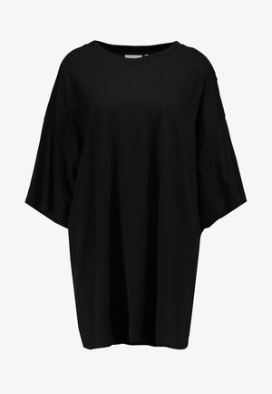HUGE DRESS - Jerseykjole - black