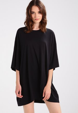HUGE DRESS - Robe en jersey - black