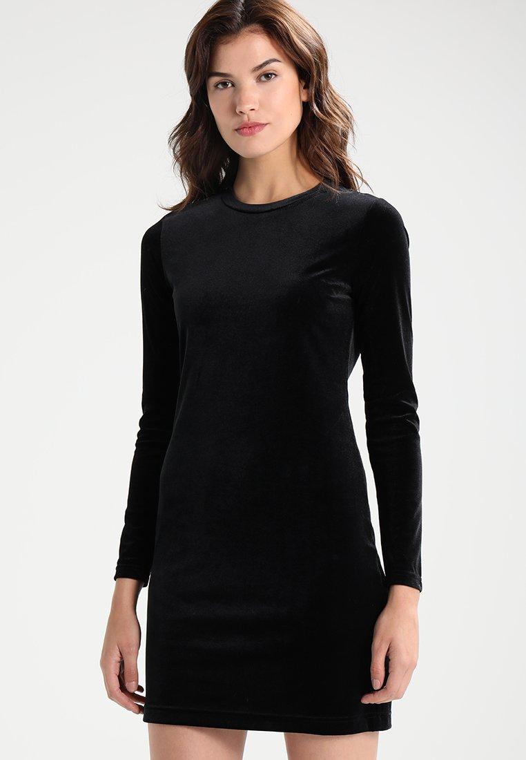Weekday - FRAY DRESS  - Tubino - black