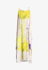 Weekday - MOSS STRAP DRESS - Maxikleid - off-white/multi-coloured - 5