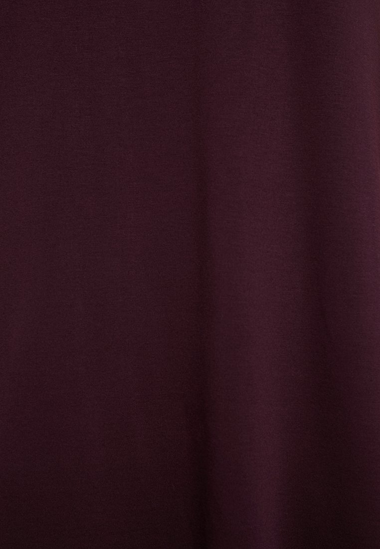 Weekday Robe en jersey - bordeaux dark burgundy