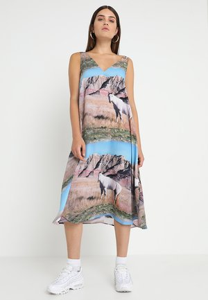 ASSAI DRESS - Maxi šaty - lilac/multi-coloured
