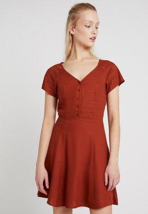 KIKI  - Robe chemise - solid rust
