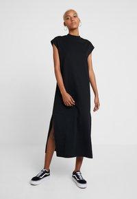 Weekday - ALMA DRESS - Jerseykjole - black - 0