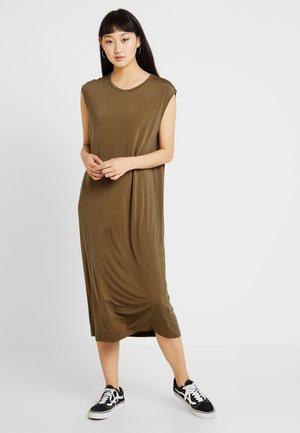 CASEY DRESS - Jerseykjole - khaki green