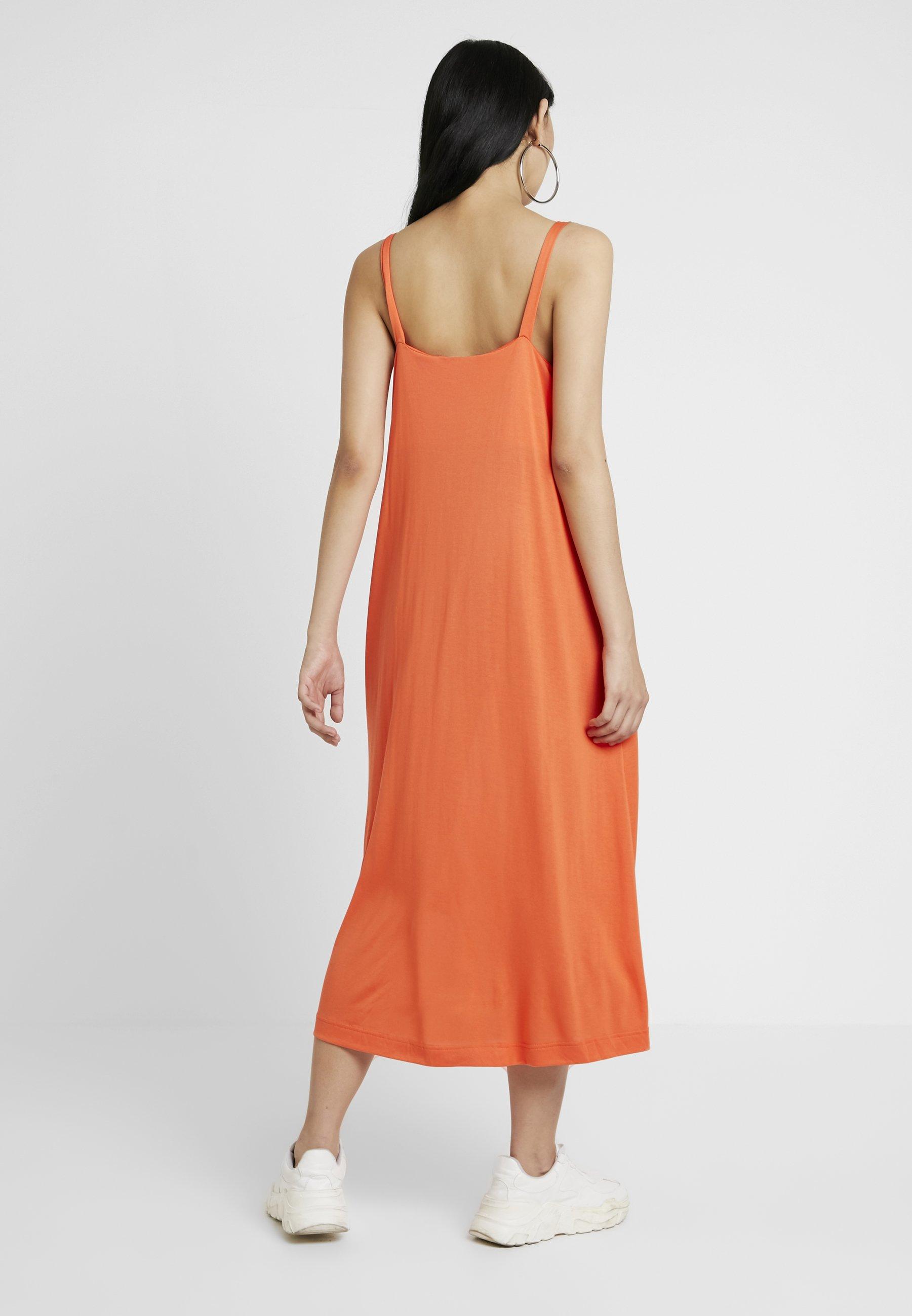 Prue Longue Orange Weekday DressRobe Prue DressRobe Weekday LpUVMSzGq