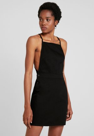 IRENE DRESS - Dongerikjole - black