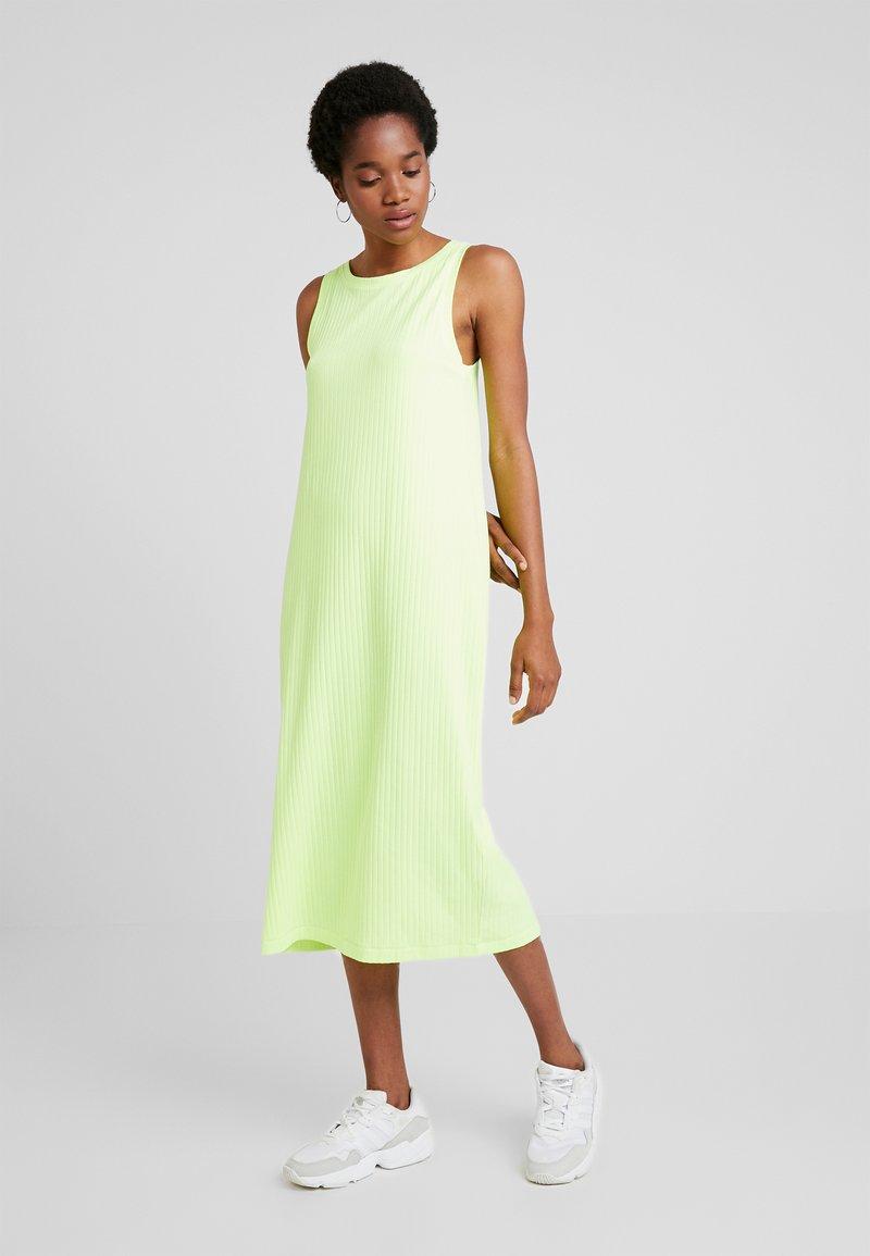 Weekday - DRESS - Maxi šaty - neon green