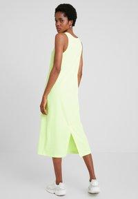 Weekday - DRESS - Maxi šaty - neon green - 2