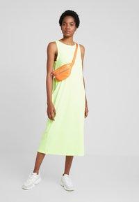 Weekday - DRESS - Maxi šaty - neon green - 1
