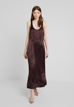MOCA DRESS - Maxi šaty - brown