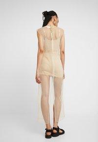 Weekday - MOMA DRESS - Robe longue - beige - 2