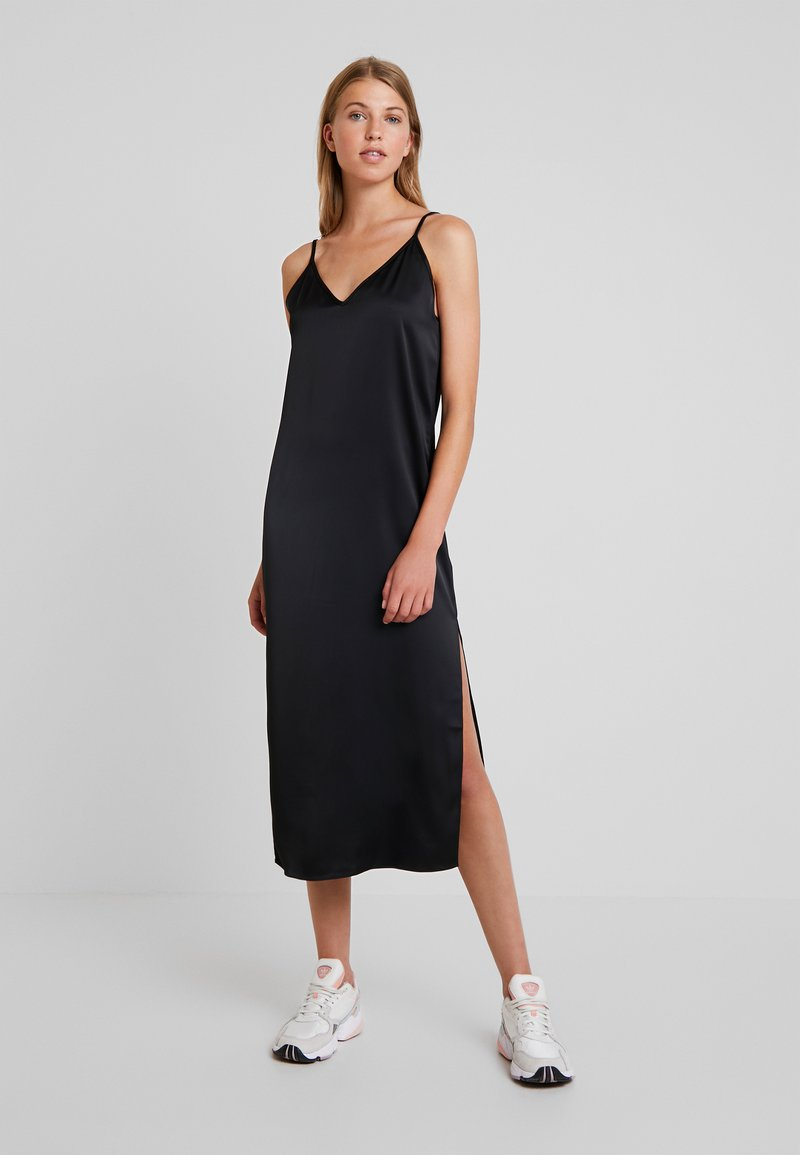 Weekday - SIERRA DRESS - Cocktail dress / Party dress - black