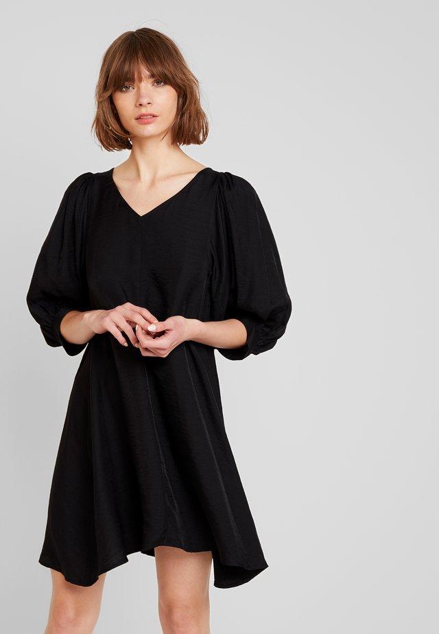 HANNAH DRESS - Freizeitkleid - black