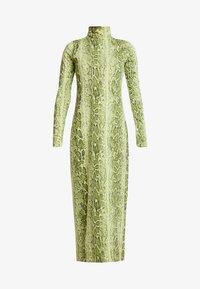 Weekday - MAXINE DRESS - Maxiklänning - green snake - 4