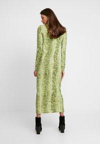 Weekday - MAXINE DRESS - Maxiklänning - green snake - 3