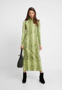 Weekday - MAXINE DRESS - Maxiklänning - green snake - 2