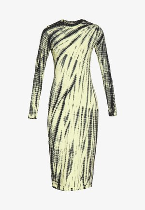 MEJA DRESS - Jerseyklänning - neon yellow