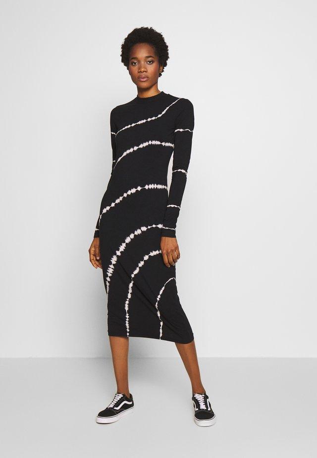 MEJA DRESS - Sukienka z dżerseju - black