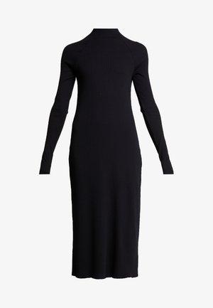 LORETTA DRESS - Abito in maglia - black