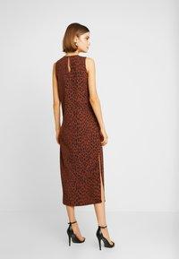 Weekday - MORGAN DRESS - Denní šaty - brown - 3