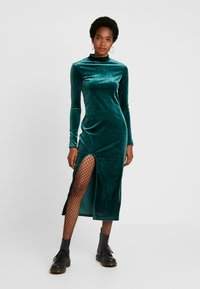 Weekday - BONITA DRESS - Kjole - dark green - 0