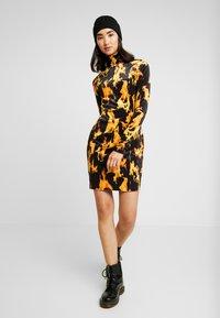 Weekday - SANDY DRESS - Shift dress - yellow - 2
