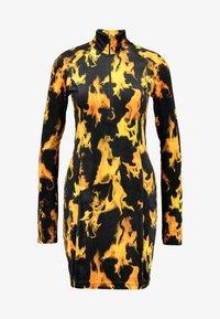 Weekday - SANDY DRESS - Shift dress - yellow - 5