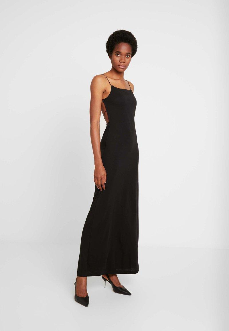 Weekday - KIARA DRESS - Maxi-jurk - black