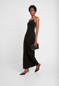 Weekday - KIARA DRESS - Maxi-jurk - black - 2