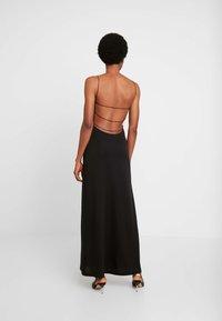 Weekday - KIARA DRESS - Maxi-jurk - black - 3