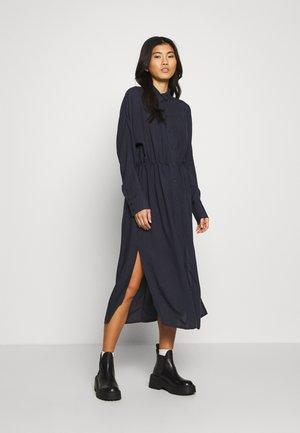 CECILIA DRESS - Košilové šaty - navy