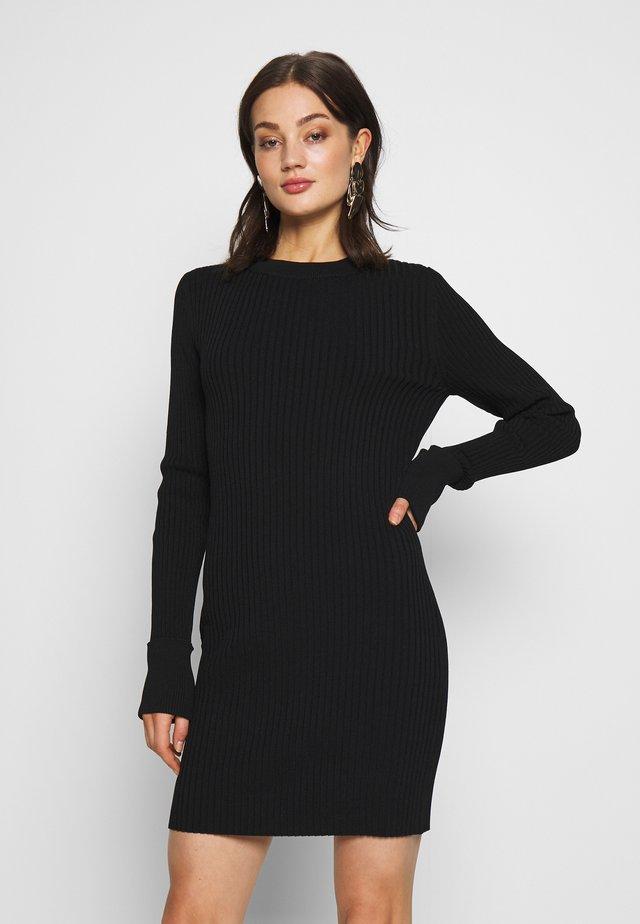 JEWEL DRESS - Etui-jurk - black