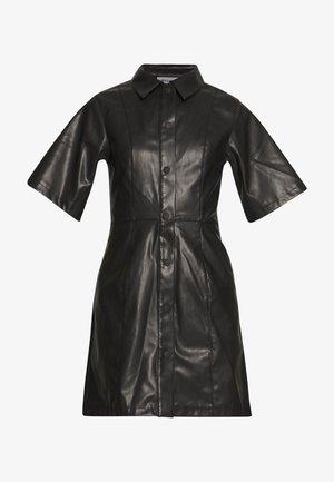 SAVANAH DRESS - Skjortekjole - black