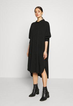 GLADYS DRESS - Skjortekjole - black