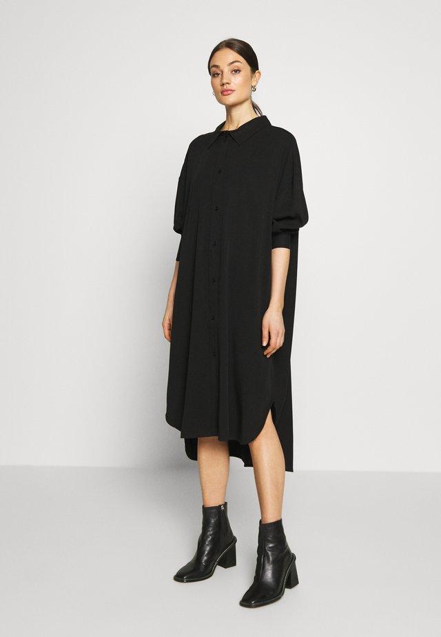 GLADYS DRESS - Blusenkleid - black