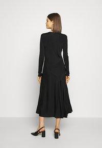 Weekday - KAREN DRESS - Jersey dress - black - 2